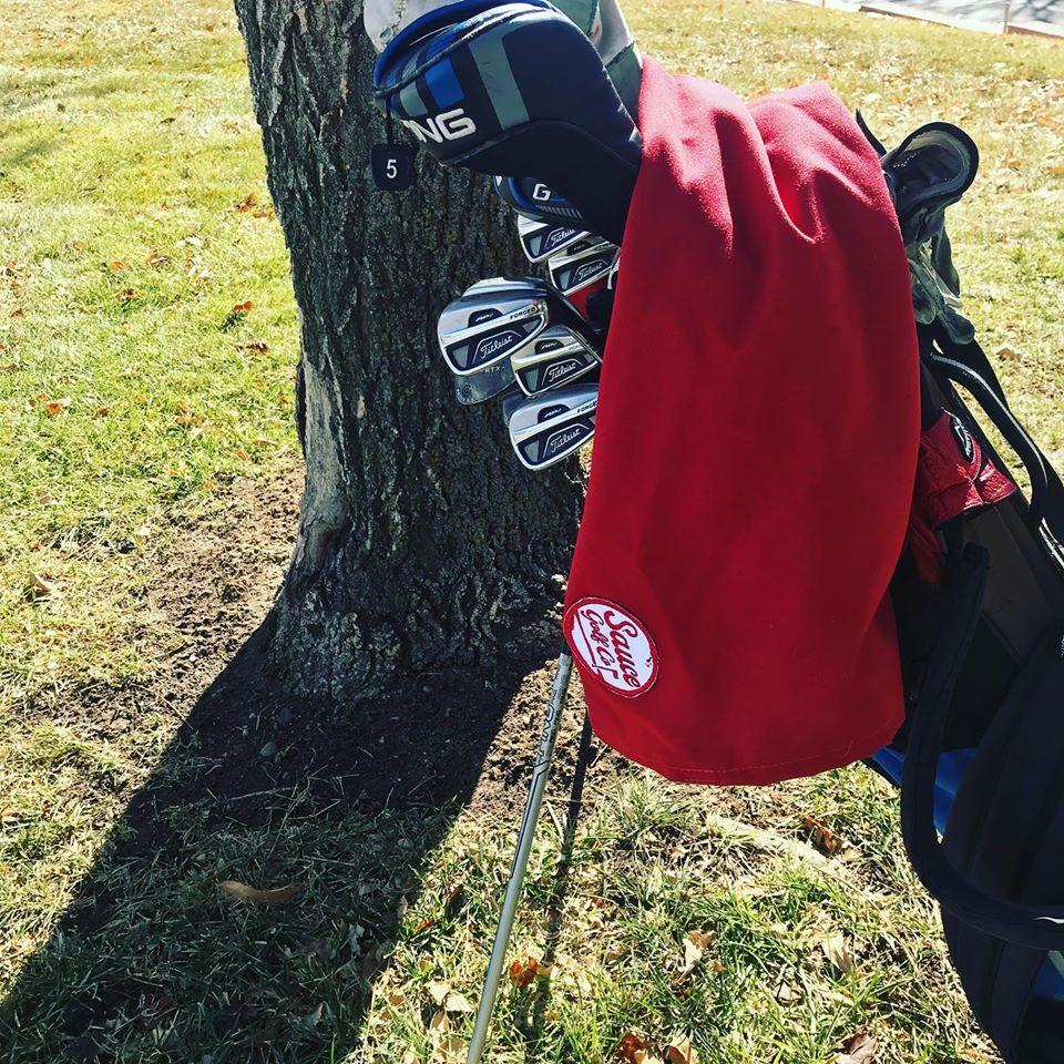 Sauce Golf Co. cooler towel