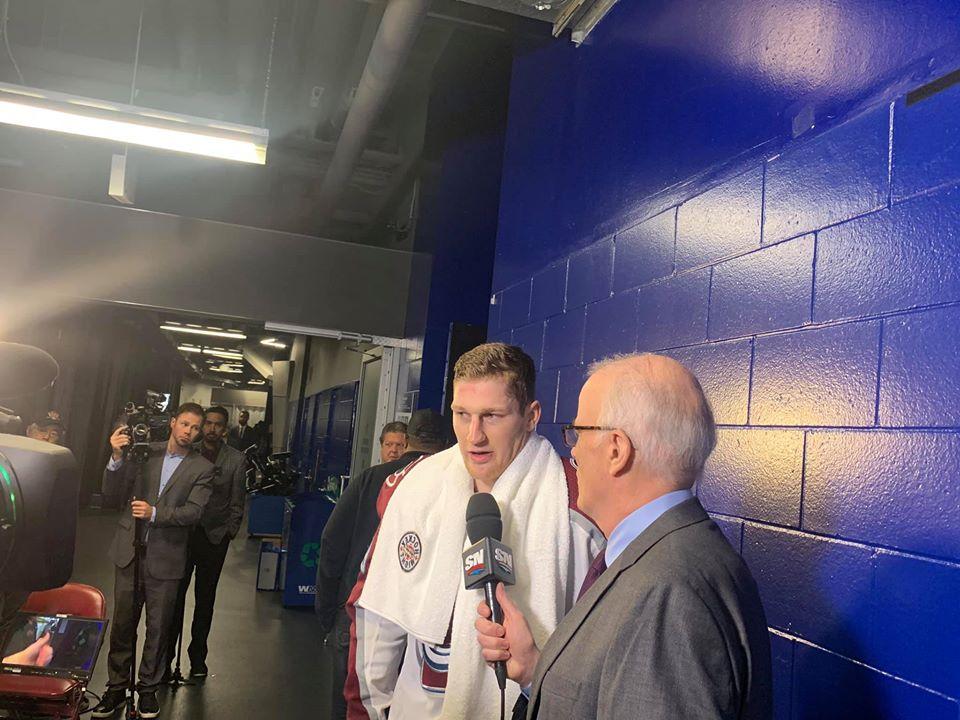 Postgame Avalanche-Canucks: MacWinnin' | Colorado Hockey Now