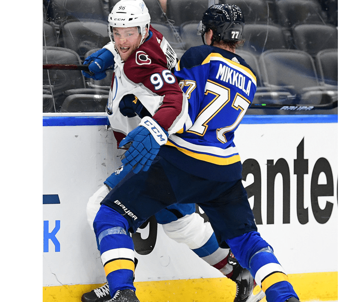 """Mikko Rantanen on Vegas loss: """"We lost to their physicality"""""""