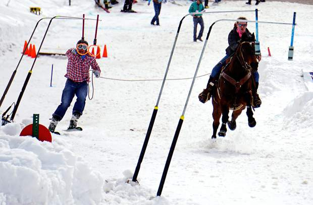 Colorado Skijoring