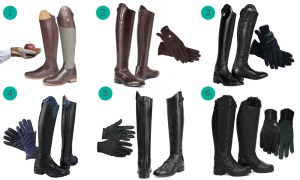 Riding Boots and Gloves
