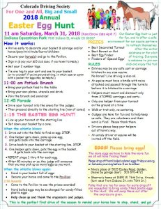 EASTER EGG HUNT with horse drawn carriages @ Indiana Equestrian Park |  |  |