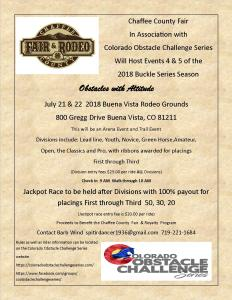 Colorado Obstacle Challenge Series @ Colorado Obstacle Challenge Series  Events 4 and 5 |  |  |