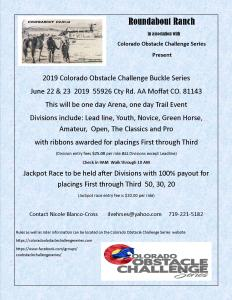 Colorado Obstacle Challenge Series @ Roundabout Ranch |  |  |