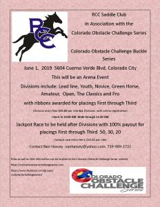 Colorado Obstacle Challenge Series @ RCC Saddle Club |  |  |