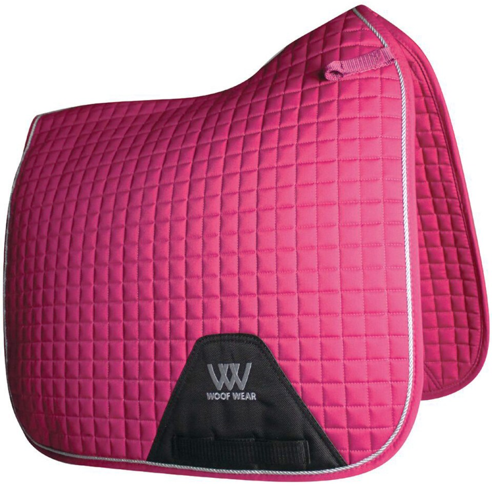 Woof Wear Color Fushion Dressage Saddle Pad - Valentines Day Gift Idea