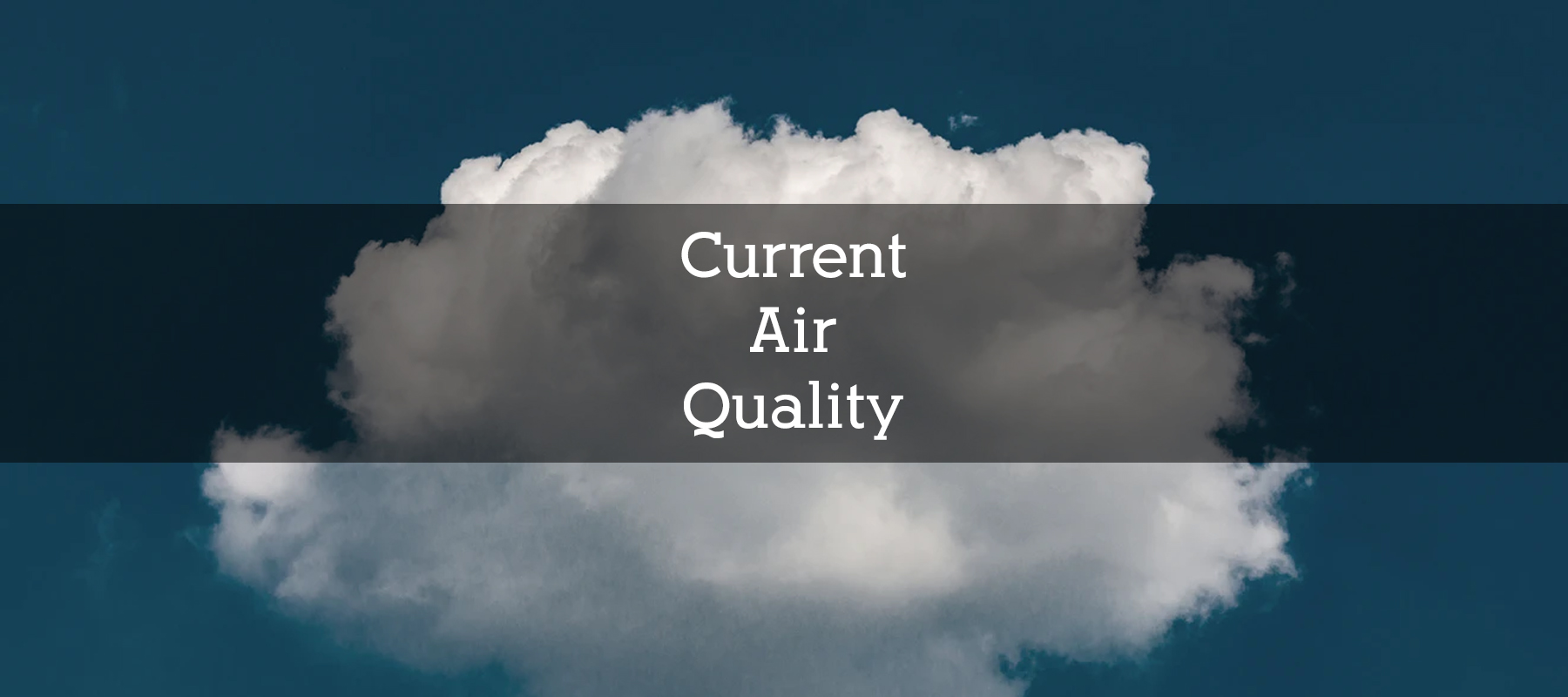 Current Air Quality in Colorado
