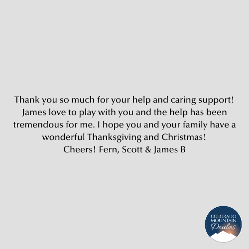 Thank you so much for your help and caring support!