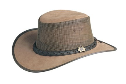 "2c9c5665d552d That s right – Adventure Hat has offered to give one of my readers this  very same amazing hat style ""BC Hats Cool as a Breeze Australian Leather"""