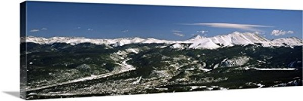 "60""x20"" Breckenridge Panorama on Canvas"
