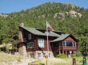 Moraine Park Museum at Rocky Mountain National Park