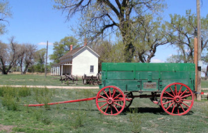Historic Boggsville House & Wagon