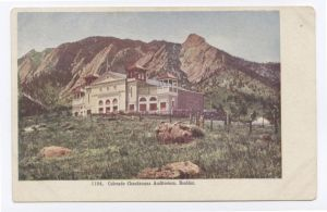 Colorado Chautauqua Auditorium