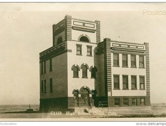 Crook - Old High School
