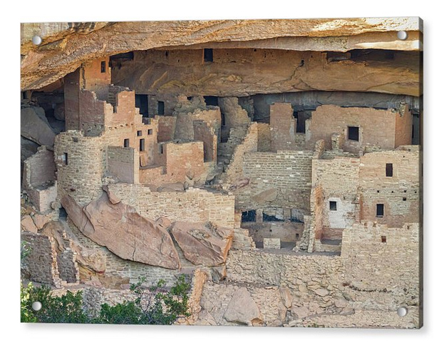 Colorado Indian Cliff Houses Acrylic Art Prints