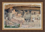 Colorado Indian Cliff Houses Framed Prints