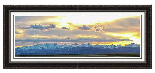 rocky_mountain_lookout_sunset_panorama_framed_print