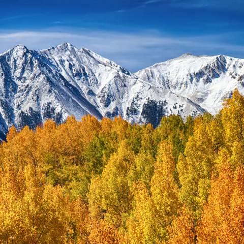 Colorado Rocky Mountain Autumn Magic