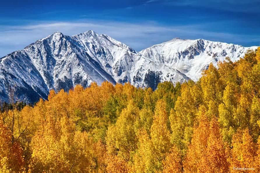 Autumn Magic Rocky Mountains Photography Prints
