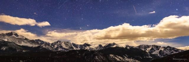 Rocky Mountain Star Gazing Panorama