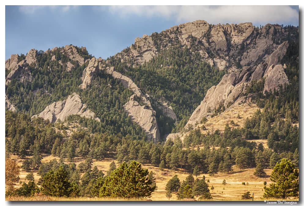 Boulder Colorado Rocky Mountain Foothills