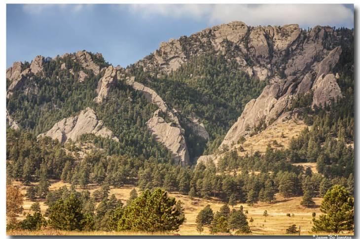 Boulder Colorado Rocky Mountain Foothills
