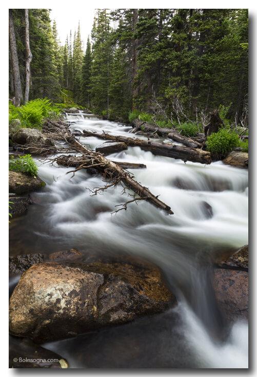 Colorado Magic Mountain Stream Art