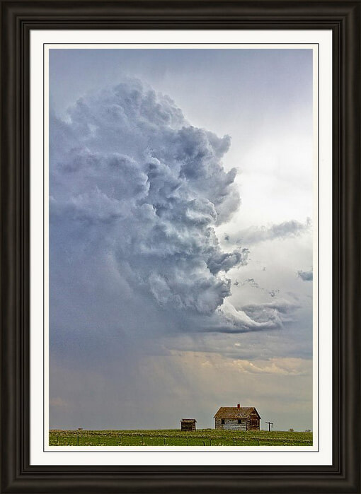 Monster Cloud Country Framed Print