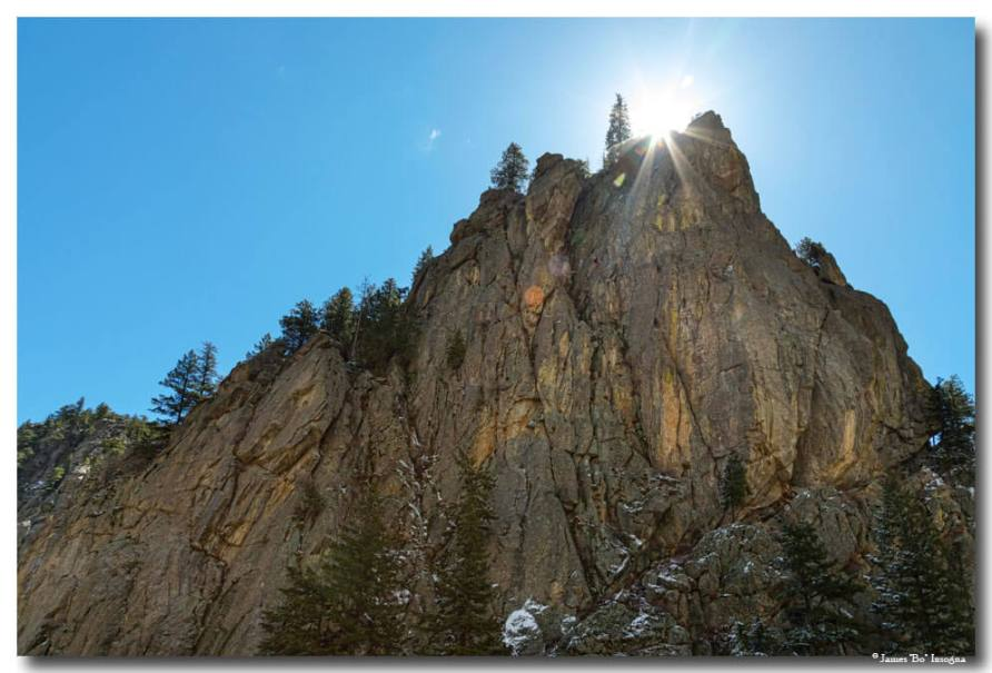 Boulder Canyon Narrows Pinnacle Art