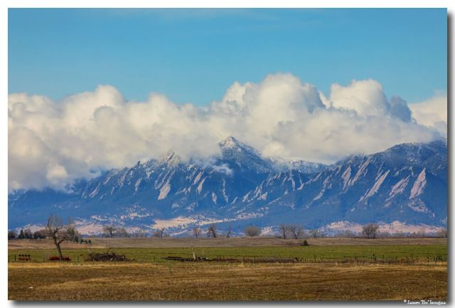 Boulder Colorado Front Range Cloud Pile On Art Prints