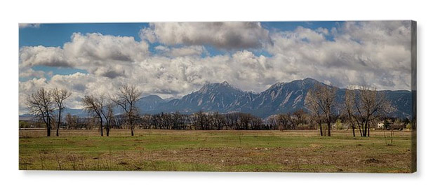 Front Range Panorama View Boulder Colorado