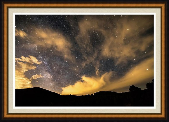 Nighttime Milky Way Art Magic