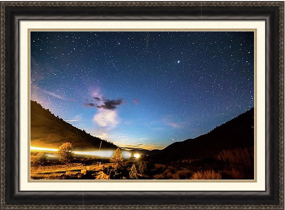 Celestial Highway Framed Print