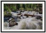 Cascading Stream Framed Print