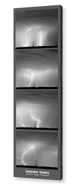Lightning-Strikes-4-Image-Vertical-Panoramic-Acrylic_Print