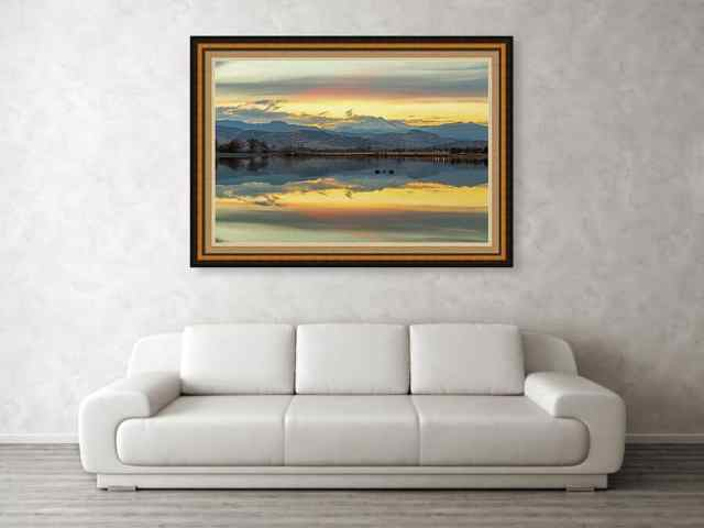 Marvelous Mccall Lake Reflections Canvas Print