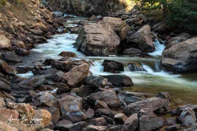 Cache La Poudre River Flow Art Print