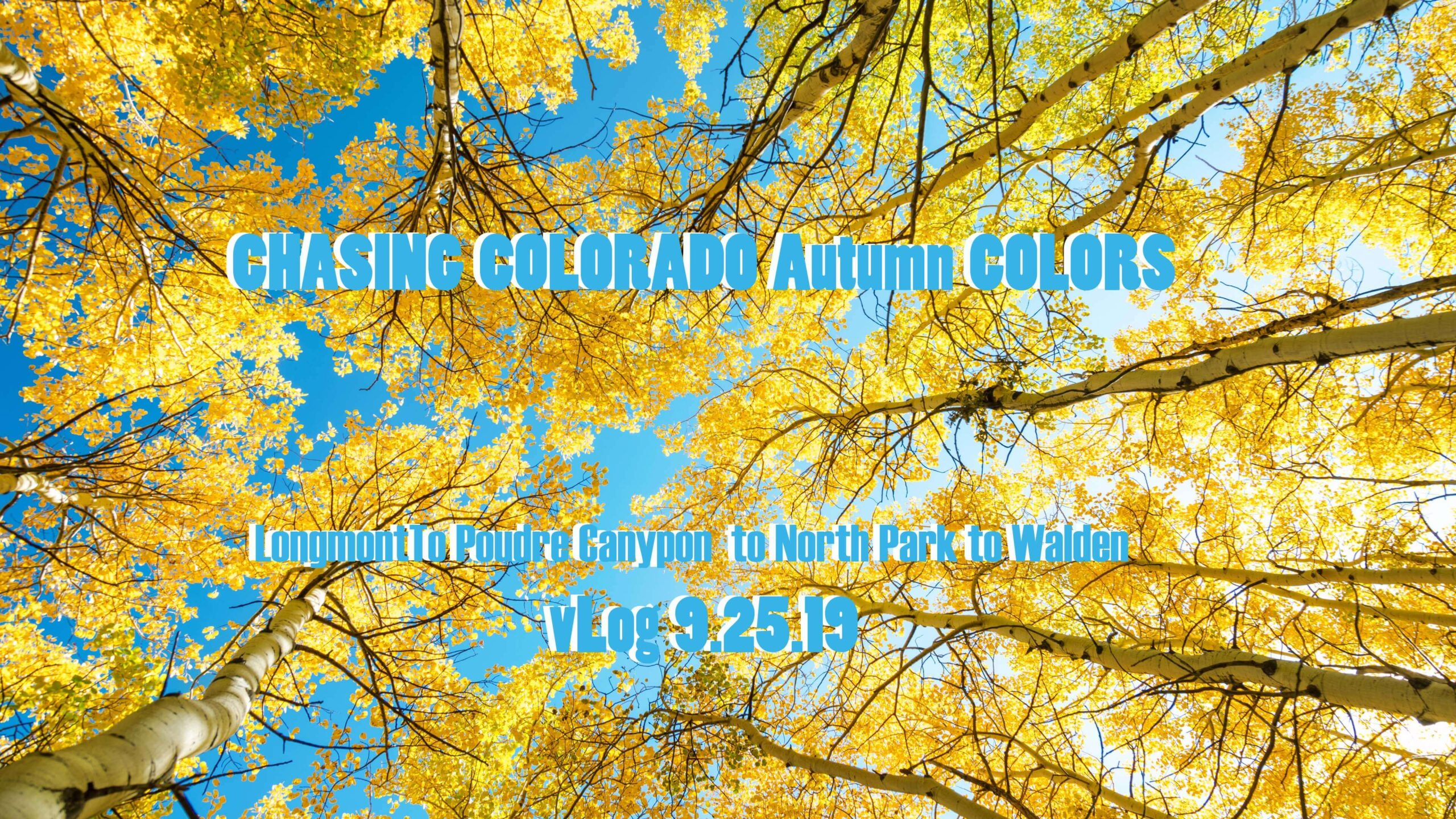 CHASING COLORADO Autumn COLORS vLog and NEW Prints