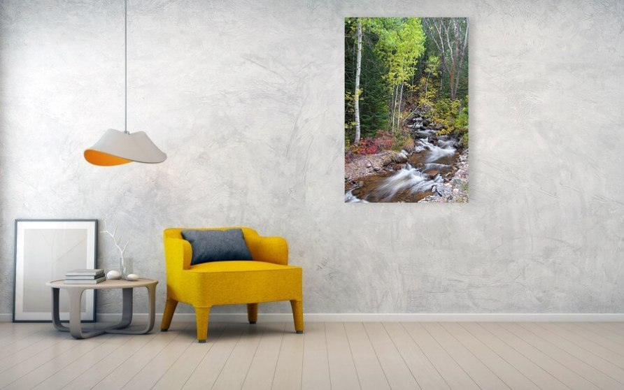 Tranquility On The Stream Acrylic Print