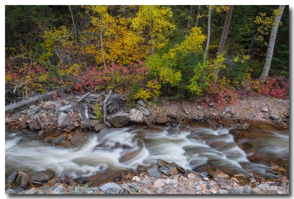 Left Hand Canyon Stream Line