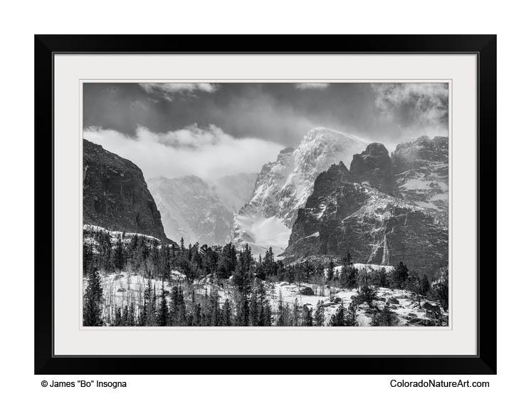 Rocky Mountain National Park Framed Print 20x30