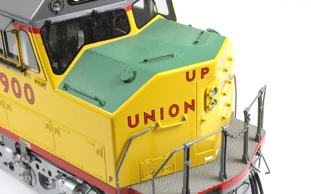 OMI Overland Models Inc. O scale 1/48 Union Pacific DDAX40 photo review