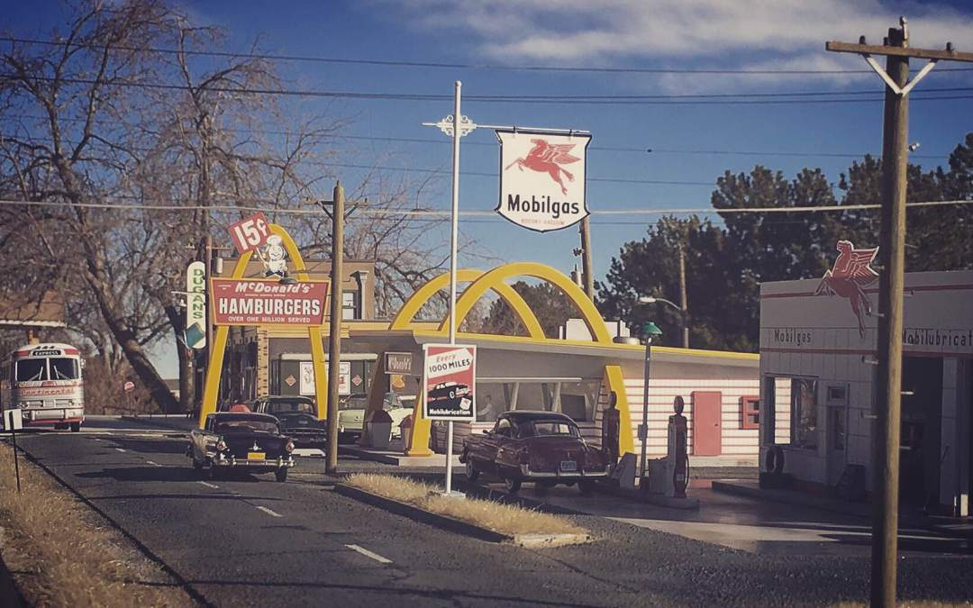 McDonald's just opened for business in Longview.