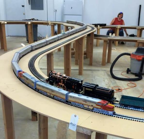COSM Highlights from the Friday the 11th Meeting at Tim's Toy Trains!
