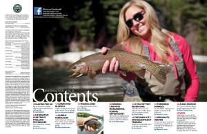 2016 Fishing Guide contents