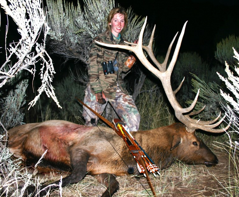 Bowhunter Connie Renfro