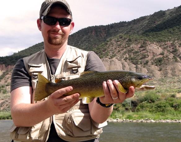 Eagle River brown trout.