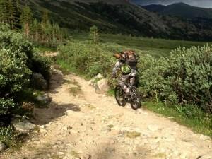 Biking down the road (1)