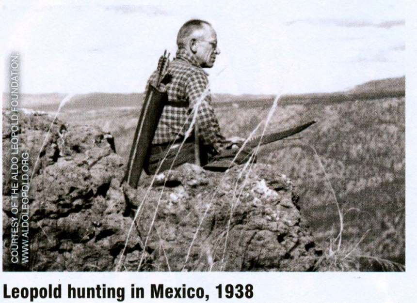 Aldo Leopold bowhunting.