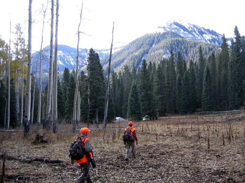 Hunters in the San Juan Mountains. Photo by David Lien.